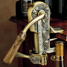 Bronze estate opener for wine - a 19th century reproduction