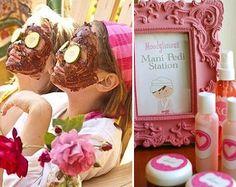 ideas originales para una spa para niñas