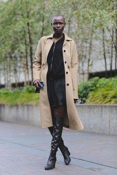 London Fashion Week Street Style SS18