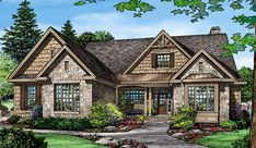 See how one builder changed the entire look of this house design on our #House #Plans #Blog http://houseplansblog.dongardner.com/see-one-builder-changed-entire-look-house-design/