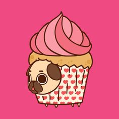 Easy Drawings Check out this awesome 'Cupcake Puglie' design on