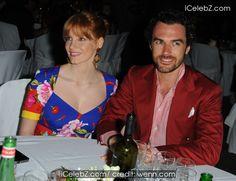 Jessica Chastain Ischia Global Festival 2014 Gala Dinner http://icelebz.com/events/ischia_global_festival_2014_gala_dinner/photo4.html