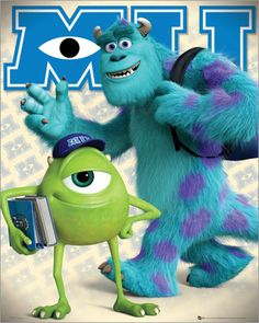Monsters University - Mike and Sulley