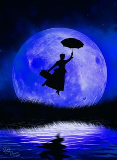 Disney Silhouette - Mary Poppins