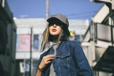 Off Duty Double Denim in Tokyo  - The Chriselle Factor