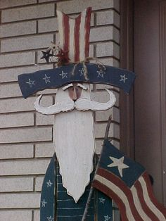 Uncle Sam Craft Patterns   Free Design, Wood Craft Patterns, Home and Garden, Country Feelin