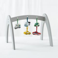Wee Workout Baby Gym (Grey)  | The Land of Nod