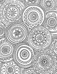 ≡ 9 Free Printable Adult Coloring Pages: