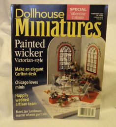 Dollhouse Miniatures February 2001  Free shipping by ConnieJoe