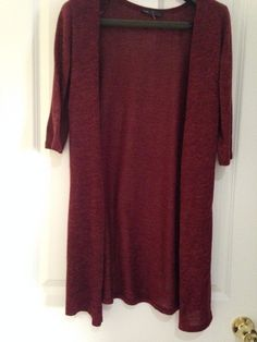 Women Melanj Casual Long Knit Top L 3/4  Sleeve Top   | eBay