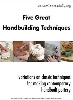 Five Great Handbuilding Techniques