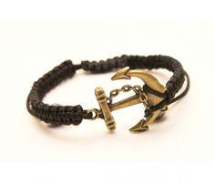 Anchor bracelet, love it