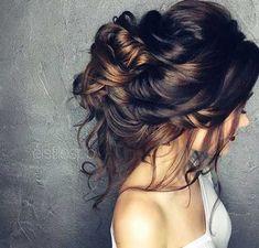 Edel lange Haarknoten für besondere Tage, Classy lange Haarknoten-9