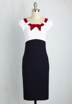 Patriotic sailor themed red, white blue, 4th of July vintage style dress?