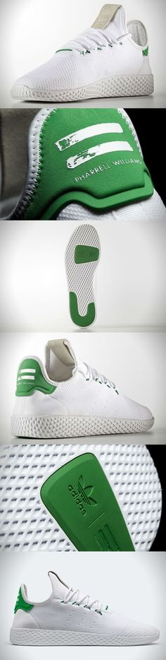 b64b725d095 Trendy Sneakers 2017  2018   Adidas Pharrell Williams x Tennis Hu. These  are the first full on signature mode