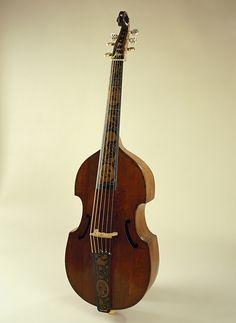 Bass viol by Barak Norman [1697]