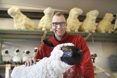 Total süß: Bauschaum-Schafe!!