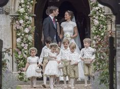 Pippa tied the knot at St Mark's Church in Englefield, Berkshire, with the reception takin...