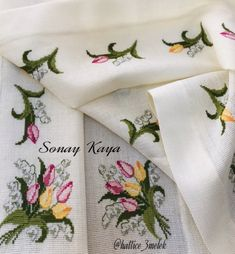 Tablecloths, Cross Stitch, Needlepoint, Punto De Cruz, Table Top Covers, Crossstitch, Table Covers, Cross Stitches