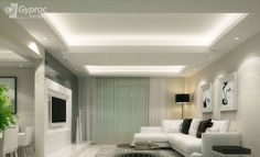 Gypsum Ceiling on Pinterest | False Ceiling Design, Ceiling Design ...
