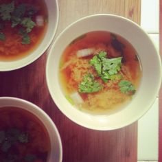 Comer bem e ser feliz: Sopa de miso com gengibre