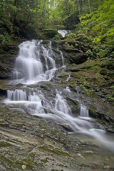 Bailey Falls, Robbins Branch, Hancock, Vermont