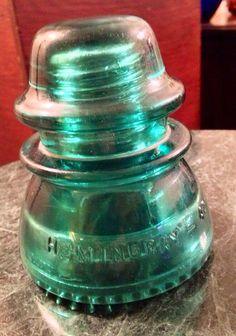 Antique Vintage Hemingray 42 emerald green by #SupergirlBatgirlRav, $19.00