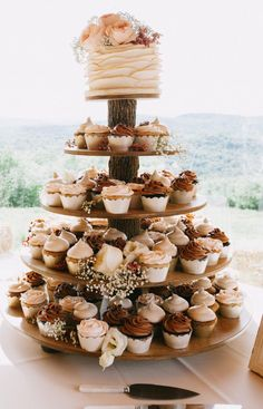 Rustic Cupcake Stand 5 Tier (Tower Holder) 75 Cupcakes 150 Donuts for Weddings . Rustic Cupcake Stand 5 Tier (Tower Holder) 75 Cupcakes 150 Donuts for Weddings, B . Wood Cupcake Stand, Rustic Cupcake Stands, Rustic Cupcakes, Cupcake Tier, Rustic Cupcake Display, Simple Cupcakes, Cupcake Favors, Cupcake Table, Cupcake Boxes