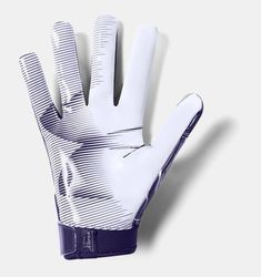 Meets NFHS/NCAA/NOCSAE standards HeatGear® fabric keeps your hands cool, dry & light Material wicks sweat & dries really fast Custom fit closure system Super-sticky Armour GrabTack® palm for maximum catchability Seamless, one-piece palm Sold in pairs