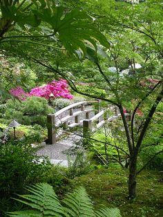 Japanese Garden, Butchart Gardens.Victoria, B.C. by **Mary**, via Flickr