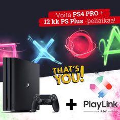 Voita HUIKEA PlayStation pelipaketti: PlayStation 4 Pro -konsoli sekä 12 kk PS Plus -peliaikaa! (kilpailu päättyy 31.7.2017)