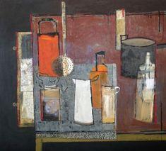 Margaret Ann Bennett(Scottish, b.1968)  Blackhouse Table