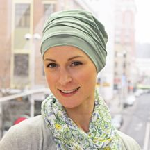 Luxury Bamboo Beanie. The softest, most comfortable turban ever! Very soothing for a bald head. A wonderful gift for cancer patients and women with alopecia or medical hair loss.