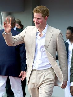 Prince Harry! He's wilder than his brother and more fun to watch. The playboy prince.