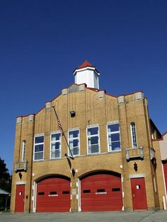 Old part of Fire Station. They had dances there.