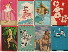 none of my vintage playing cards are this cool!  (no source)