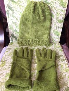 4d30dfa13d Bonnet tricoté mains, laine alpaga + gants assortis, ens. neuf. Cheapy93 ·  Vinted