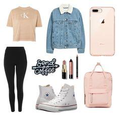 """Casual"" by lealmarisu on Polyvore featuring moda, Calvin Klein, Topshop, Converse, Madden Girl y Bobbi Brown Cosmetics"