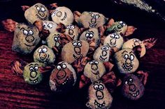 Here's a cheap and cheerful Frozen party hack: Collect rocks to decorate with faces and hide for a a troll hunt the kids will love.