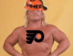 Zoo With Roy: Old Wrestlers as Hockey Players