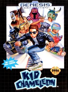 Kid Chameleon (Sega Genesis). My Dad and I STILL have not finished this game.