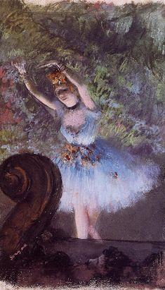 Edgar Degas, Degas Drawings, Degas Paintings, Pierre Auguste Renoir, Ballerine Degas, Art Ancien, Post Impressionism, Oil Painting Reproductions, Dance Art