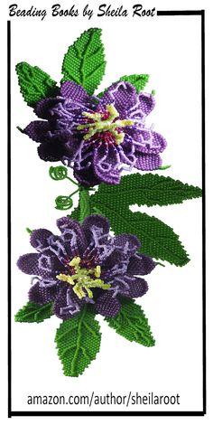 Passion Flower Bracelet Pattern