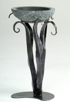 Hand Forged Furniture -- simple + organic composition