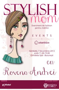 """And here we start """"Events by UrbanKid.ro"""" series with an styling event for the mothers that did not forget they are also women. Moma, Stylish, Mothers, Blog, Forget, Fashion, Moda, Fashion Styles, Blogging"""