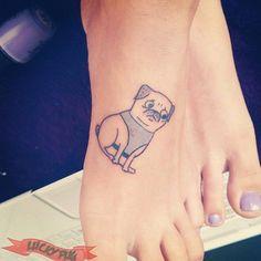 23 Loveable Pug Tattoos