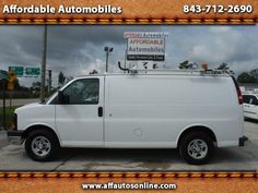 Used 2008 Chevrolet Express 1500 Cargo for Sale in Myrtle Beach SC 29577…