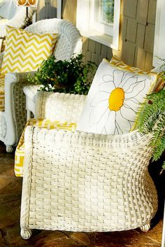 Summer Front Porch Color of Year ...Yellow