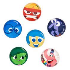 Pixar Inside Out Magnet Set Inside Out Characters, Movie Inside Out, Disney Inside Out, Disney Characters, New Disney Movies, Disney Pixar, Disney Cruise, Disney Stuff, Bullet Journal Disney