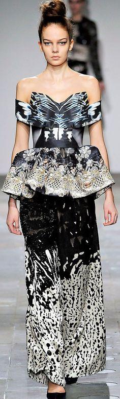 Mary Katrantzou F/W 2012 ♥✤ | Keep the Glamour | BeStayBeautiful